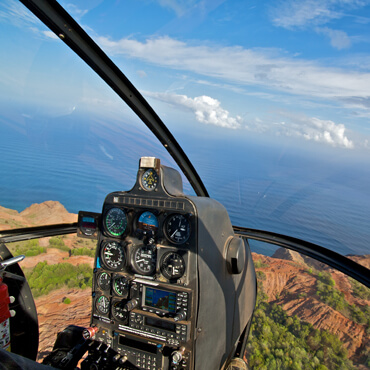 Mallorca Class, Privet Flights - Helicopter View